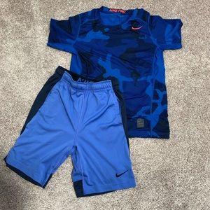 Boys Nike Pro Outfit Bundle - 2 diff sizes!!!